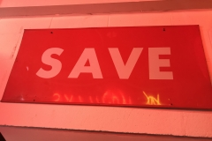 S-7 - SAVE Sign