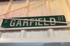 S-33 - Garfield Street Sign
