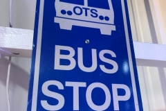 S-49 - Bus Stop Street Sign