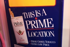 S-52 - Vintage Prime Pricing Sign