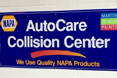 S315 - NAPA Auto Care Sign