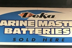 S192 - Marine Master Batteries Sign